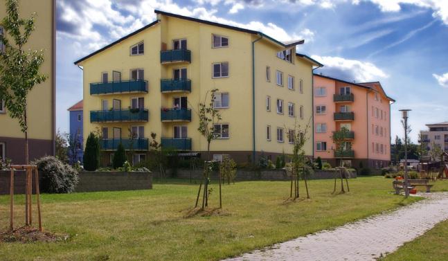 Sídliště Máj, 520 bytů