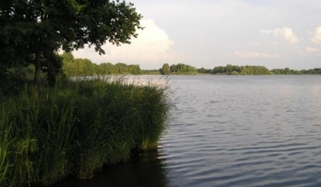 Odbahnění rybníka Blatec