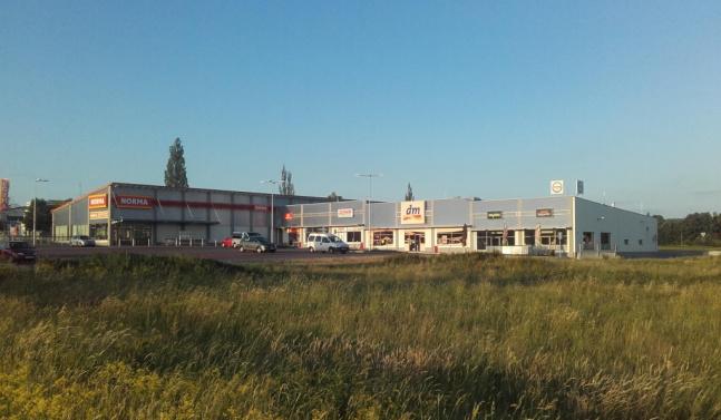 Obchodní centrum Hrdějovice