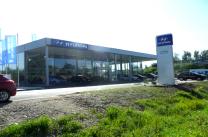 Autosalon a servisní hala Hyundai