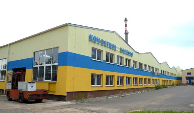 Rekonstrukce výrobní haly spol. Kovostroj Bohemia, s.r.o.