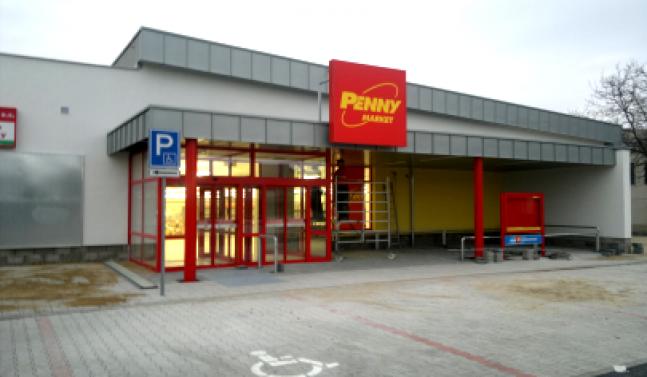 Prodejna PENNY MARKET