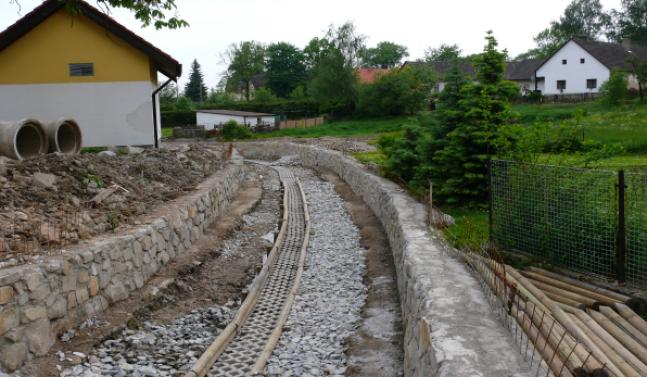 Úprava Lodhéřovského potoka
